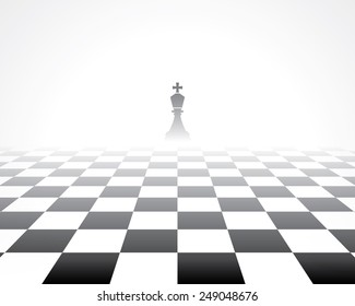 chess board. abstract background