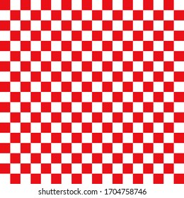 Chess board isolated red white abstract background textures pattern seamless vector illustration