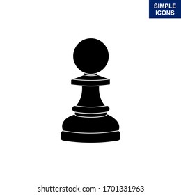 Chess clipart with a white background. Vector illustration.