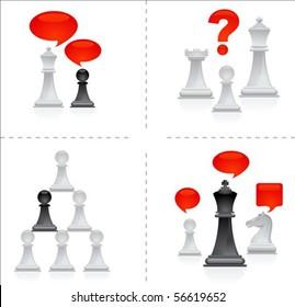 Chess metaphors - teamwork