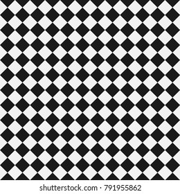 Chess Pattern in Black & White