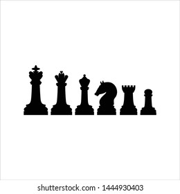 chess piece vector icon modern and simple flat symbol for website