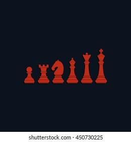 Chess pieces icon.