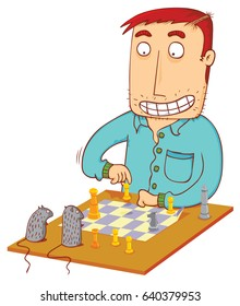 chess time with mice