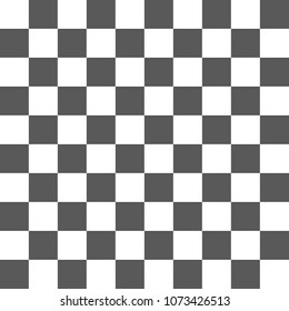 Chessboard grey and white seamless pattern