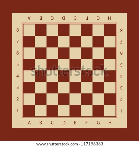 chessboard vector illustration chessboard chess board stock vector