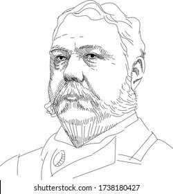 Chester Alan Arthur - 21 US President