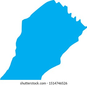 chester County map in Pennsylvania state