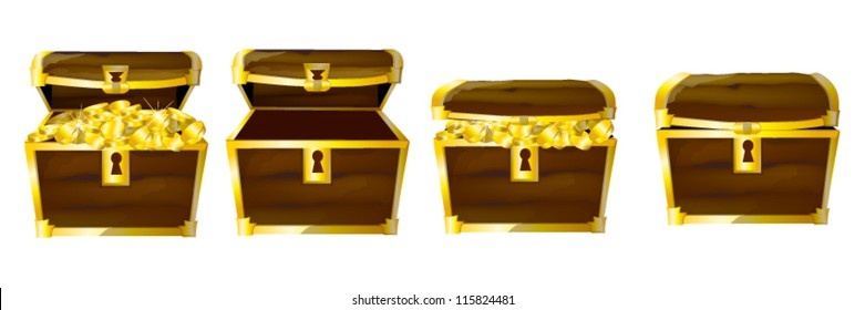 chests of coins