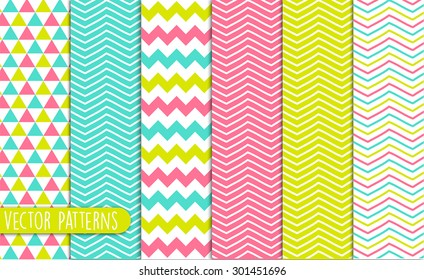 Chevron Pattern Design Set