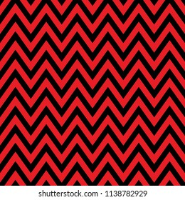 Chevron pattern seamless, black and red