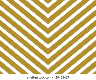Chevron pattern wallpaper design set in gold and white. Seamless vector texture paper background.