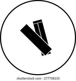 chewing gum sticks symbol