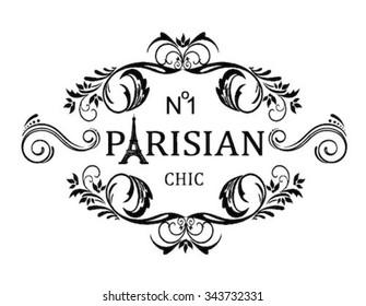 chic slogan frame print for t-shirt