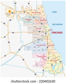 chicago community map