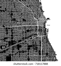 Chicago Map Images Stock Photos Vectors Shutterstock