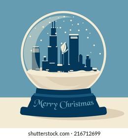 Chicago Snow Ball