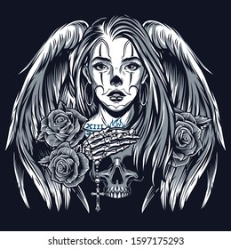 Tattoo Chicano Images Stock Photos Vectors Shutterstock