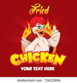 Chicken Character illustration