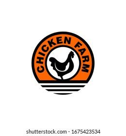 Chicken Farm Logo Image Stock vector