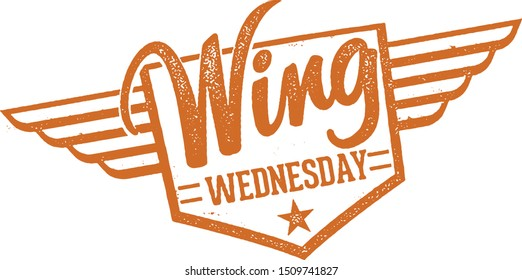 Chicken Wing Wednesday Night Special Stamp