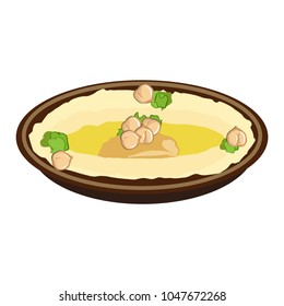chickpeas hummus icon