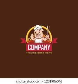 Chief pig logo
