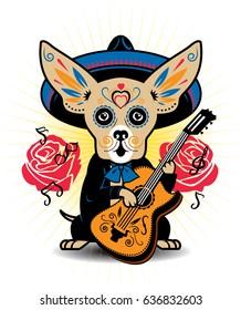 Chihuahua Musician