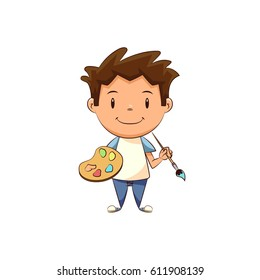 Child art painter