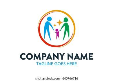 Child Care Logo Template