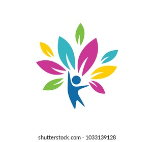child education and nursery camp vector logo template design