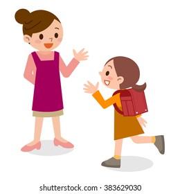 Mother Cartoon Images, Stock Photos & Vectors Shutterstock