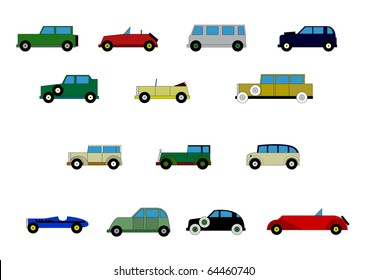 Child passenger cars