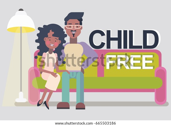 Childfree Voluntary Childlessness Stock Vector (Royalty Free