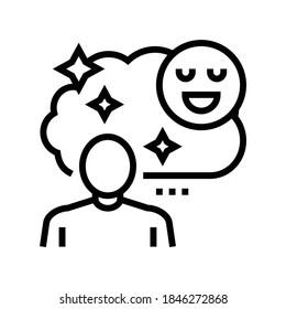 childhood nostalgia line icon vector. childhood nostalgia sign. isolated contour symbol black illustration