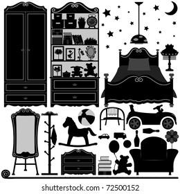 Children Bedroom Interior Design Home Room Furniture
