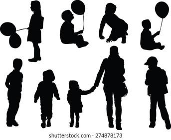 children collection - vector