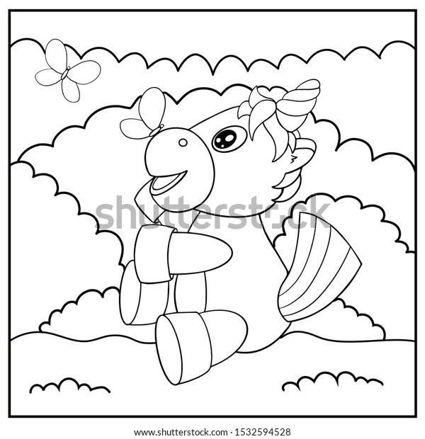 Top 50 Free Printable Unicorn Coloring Pages | 620x600