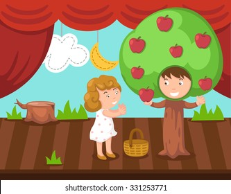 Obra De Teatro Niños Images Stock Photos Vectors Shutterstock