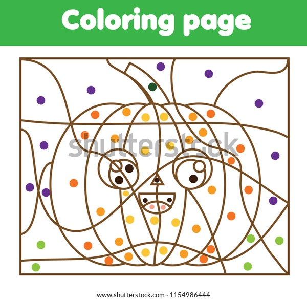Pumpkin Coloring Page Printable - Finding Zest | 586x600