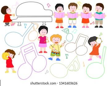 Children enjoying it at a music presentation
