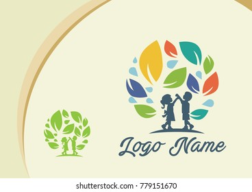 children logo design