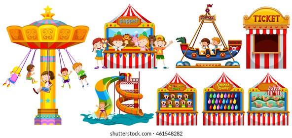 Fun Fair Clipart Images Stock Photos Vectors Shutterstock