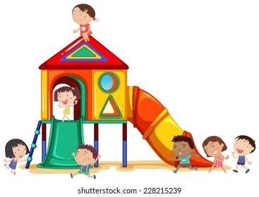Playground Clip Art Images, Stock Photos & Vectors | Shutterstock