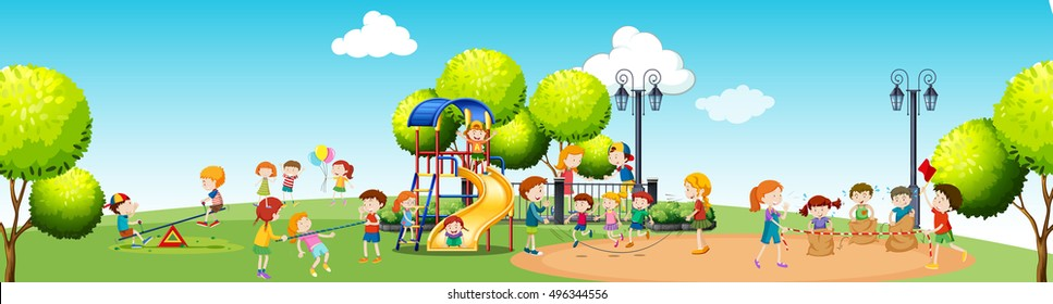 Playground Images Stock Photos Vectors Shutterstock