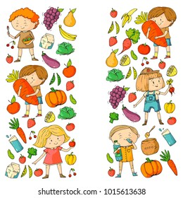 Vegetables Fruit Drawing Images Stock Photos Vectors