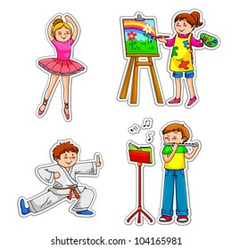 children and their hobbies