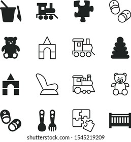 children vector icon set such as: Children's spoons, sand, beautiful, food, interior, protection, ring, education, wild, connection, cradle, seat, belt, bed, beby, freight train, colored, decoration
