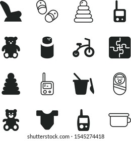 children vector icon set such as: embroidery, head, toilet for baby, sweet, roly-poly, business, happiness, happy, roly, shape, t-shirt, idea, board game, trike, toilet, book, container, potty