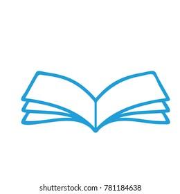 children's books blue color symmetrical leaves